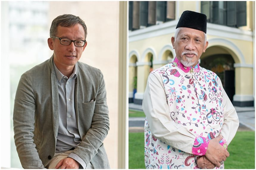 Writer Simon Tay (left) and  Malay theatre doyen Nadiputra won the S.E.A. Write Award for 2019 and 2020 respectively.