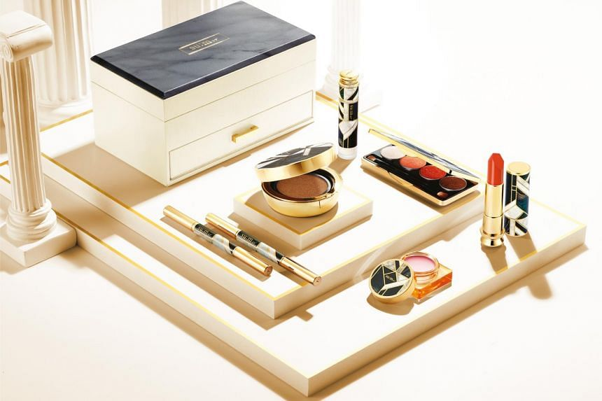 The Losec Summa Luxury Makeup Box ($398) comprises seven base, lip and eye products.
