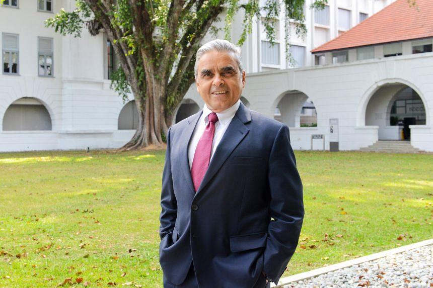 Professor Kishore Mahbubani was the founding dean of the NUS Lee Kuan Yew School of Public Policy.