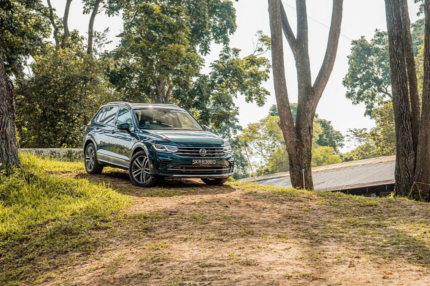 The new Volkswagen Tiguan.