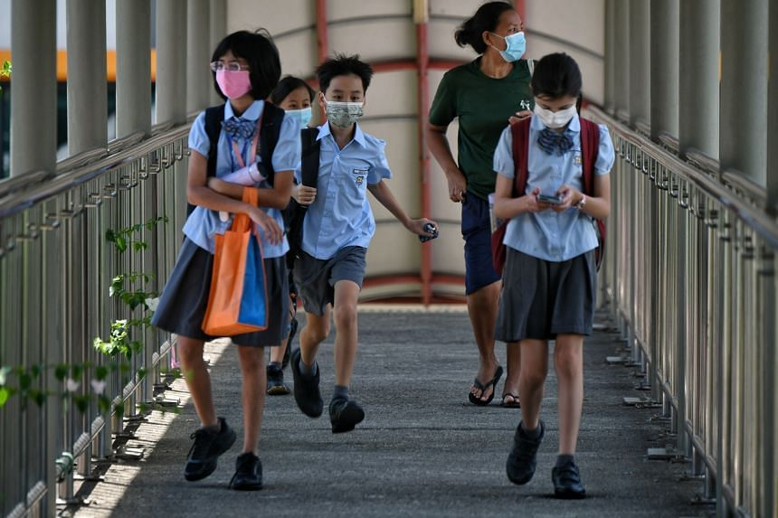 Primary 3 to 6 pupils will return to school from Oct 11, 2021.