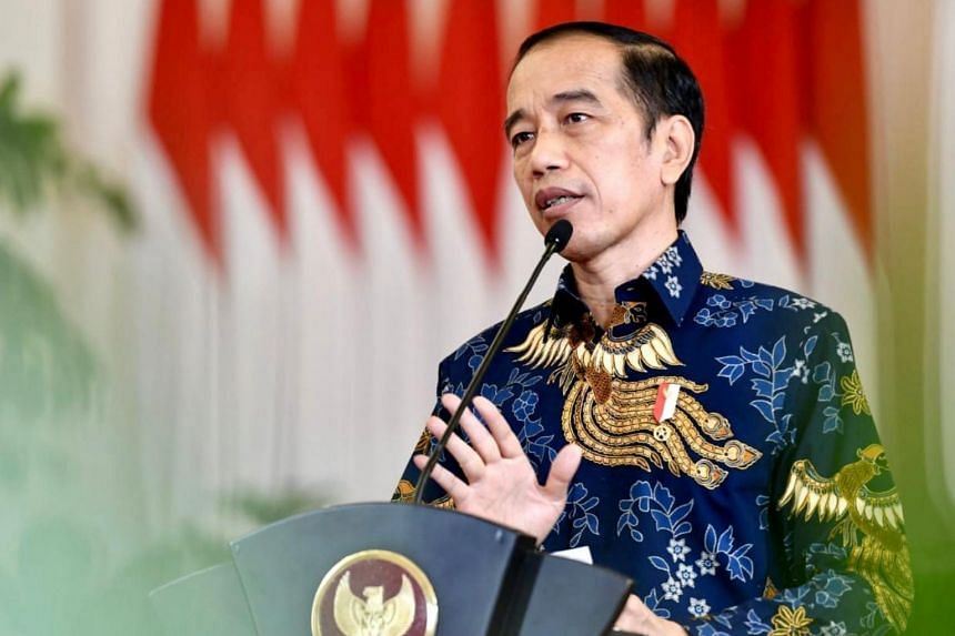 """In challenging times such as during the current Covid-19 pandemic, Indonesian President Joko Widodo said countries should promote """"win-win relations"""" and work together."""