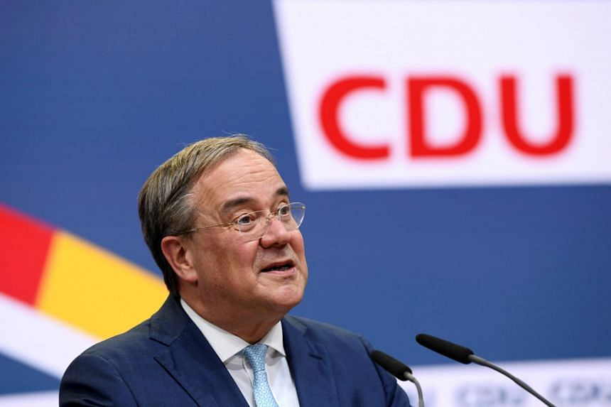 Armin Laschet has also agreed to step aside as premier of Germany's most populous state.