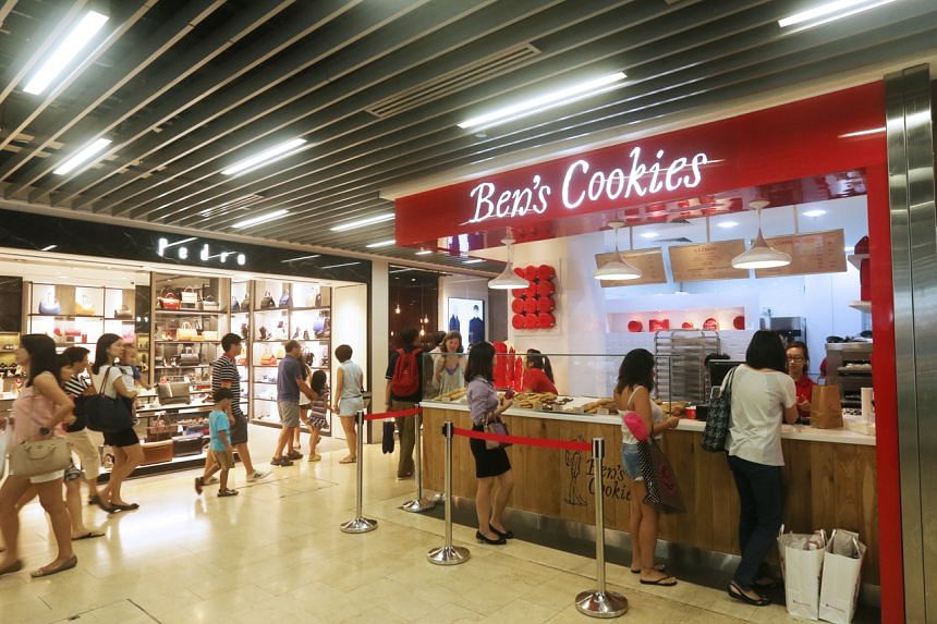 The Wisma Atria store was Ben's Cookies' first opening in Singapore back in 2014.