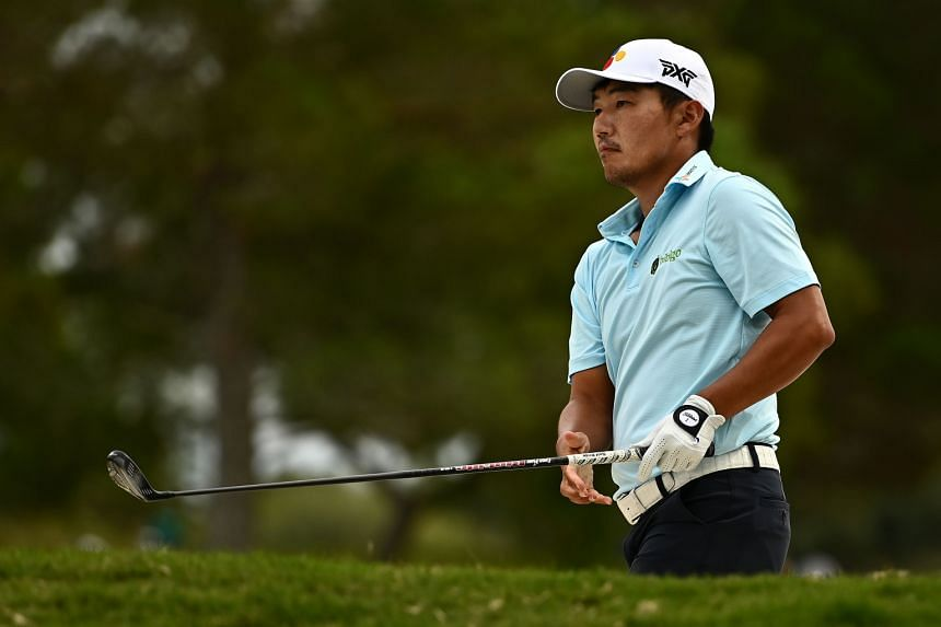 Kang Sung-hoon made nine birdies and a closing eagle against a lone bogey.
