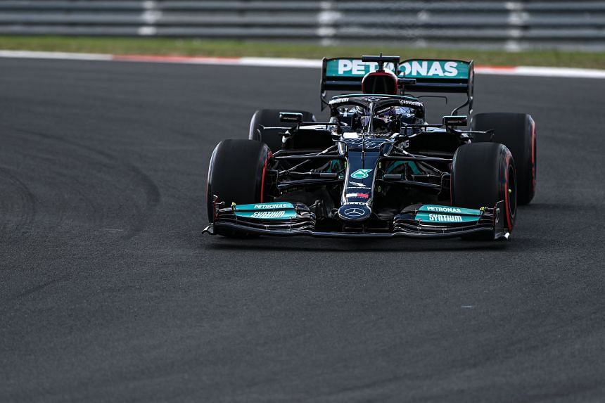 The new internal combustion engine exceeds Lewis Hamilton's allocation of three for the season, triggering the penalty.