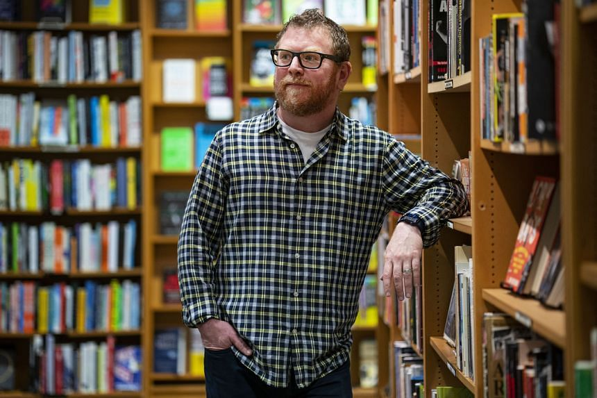 Mr Robert Sindelar, managing partner at Third Place Books, said that there are probably 100 titles he has't been able to restock.