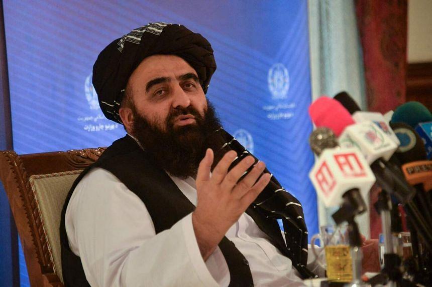 Mr Amir Khan Muttaqi also said Washington would offer Afghans coronavirus vaccines.