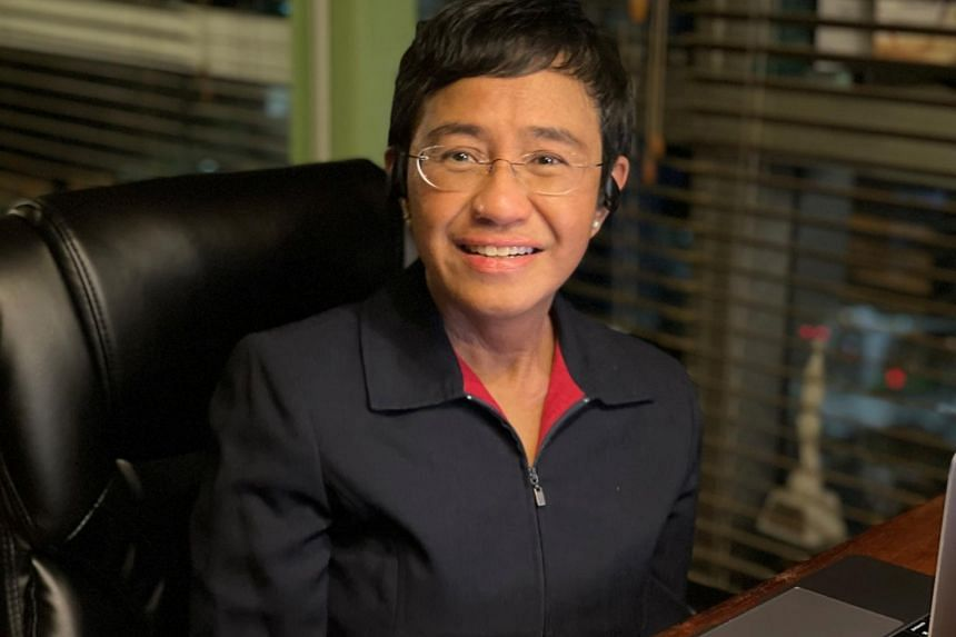 Ms Maria Ressa is the co-founder of news website Rappler.