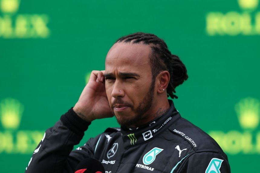 Hamilton received a 10-place penalty for exceeding his season's engine allocation.