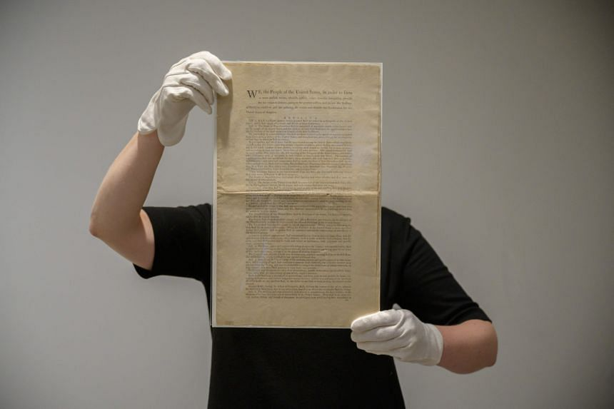Sotheby's estimated the value of the document at US$15 million to US$20 million.