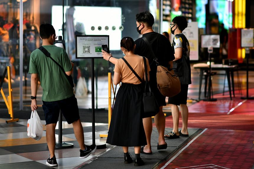 The Ministry of Trade and Industry and Enterprise Singapore are working closely with mall operators to allow tenants, mall operators, and the public to familiarise themselves with the new processes and checks.