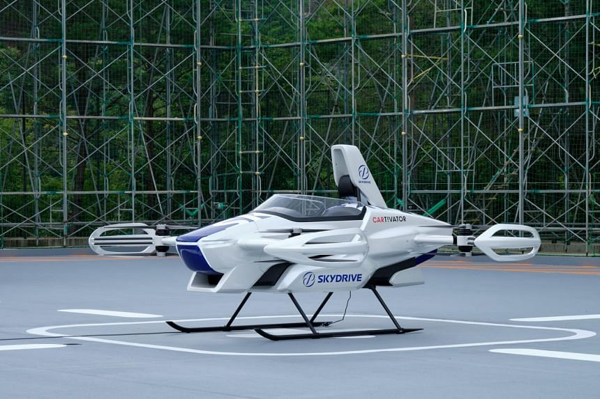 Tokyo-based start-up SkyDrive is planning to unveil its flying car operation business at the Japan Expo 2025.