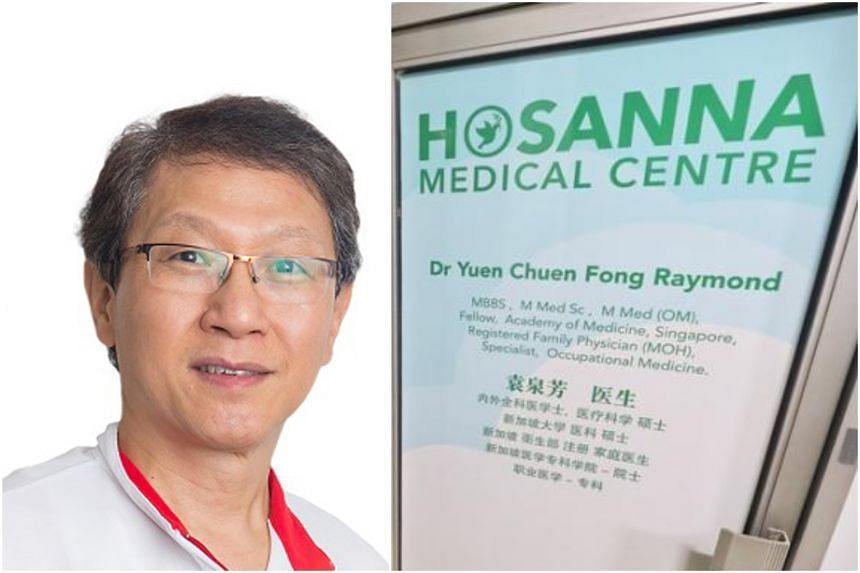 Dr Raymond Yuen of Hosanna Medical Centre died in Tan Tock Seng Hospital after battling the virus.