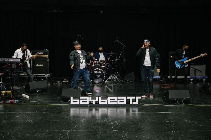 This year's Baybeats festival will feature more than 40, mostly home-grown, acts.