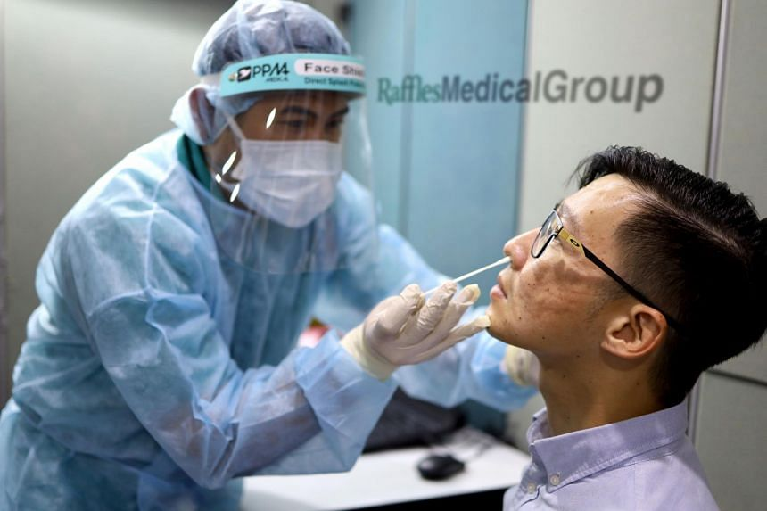Raffles Medical is the sole provider of Covid-19 polymerase chain reaction tests for post-arrival air travellers into Singapore.