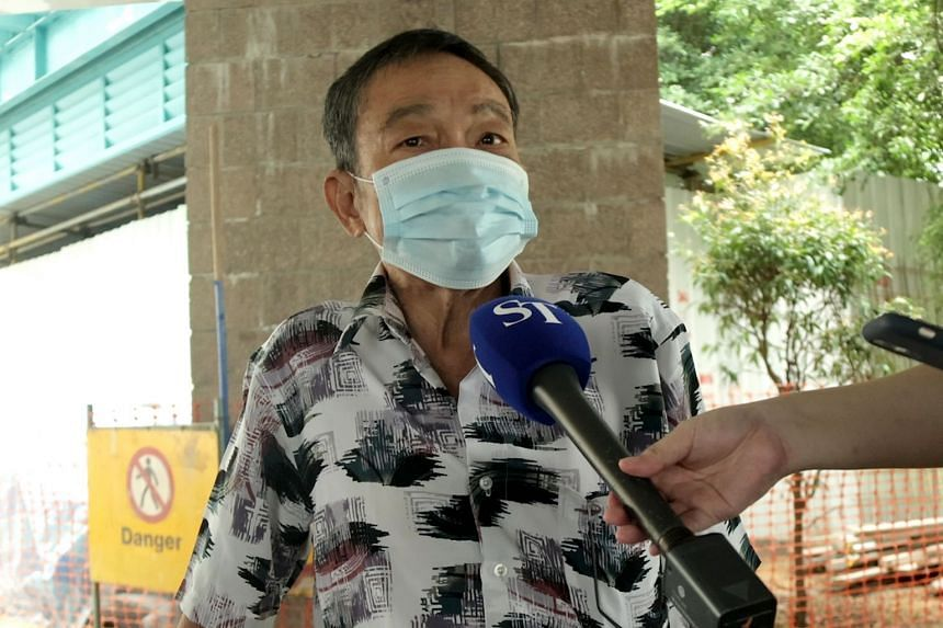 Mr Chew Chong Kee, who completed his double-shot regime in March, is waiting to receive a notification for his booster shot.