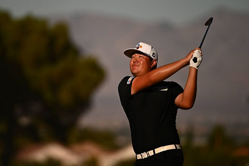 South Korean Im Sung-jae at the Shriners' Children's Open in Las Vegas on Oct 10, 2021.