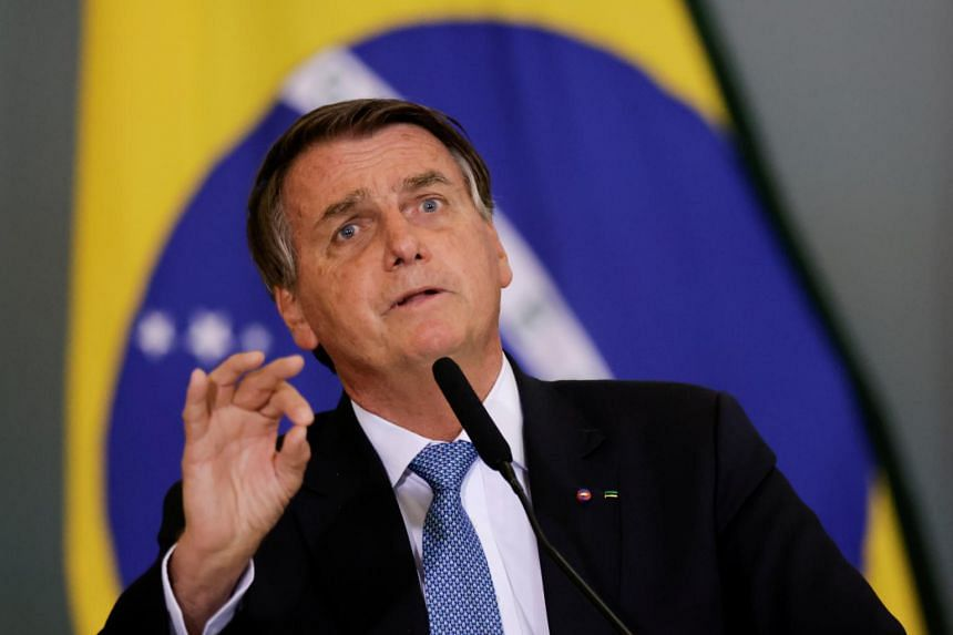 It said that Mr Jair Bolsonaro was responsible for approximately 4,000 square kilometres of lost rainforest each year.