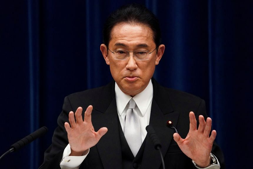 In his debut in parliament on Monday, Mr Fumio Kishida defended his pro-nuclear energy policies.