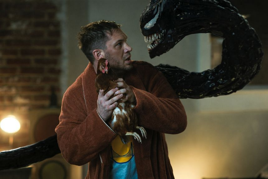 Tom Hardy stars in Venom: Let There Be Carnage.