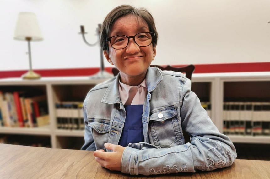 Cheng Ewe-Hsuen, 17, a first-year law and management student at Temasek Polytechnic, has Loeys-Dietz syndrome, a rare genetic connective tissue disorder.