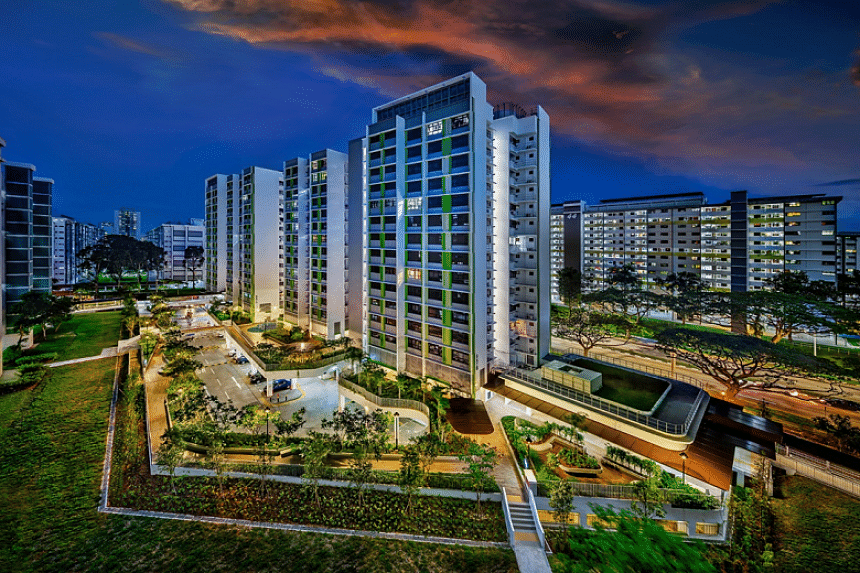 One of the BTO projects completed and delivered to buyers during the pandemic was Bedok North Vale, which has 215 units across two blocks.