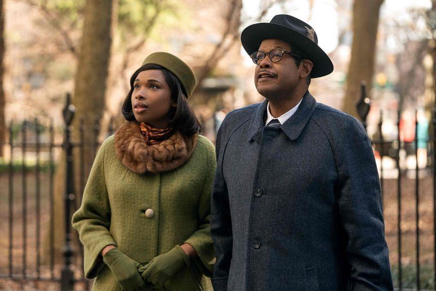 Still from the film Respect starring Jennifer Hudson (left) and Forest Whitaker.
