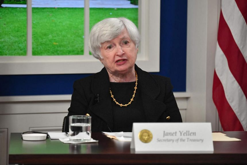 Dr Janet Yellen said price increases are not likely to last, and there should be plenty of products available for the holiday shopping season.