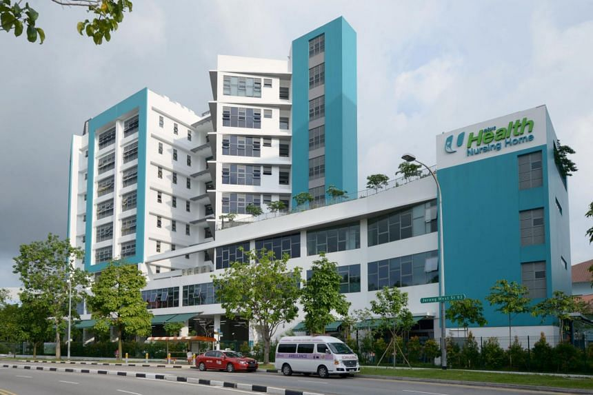 NTUC Health (Jurong West) Nursing Home has about 180 staff and 250 residents at present.