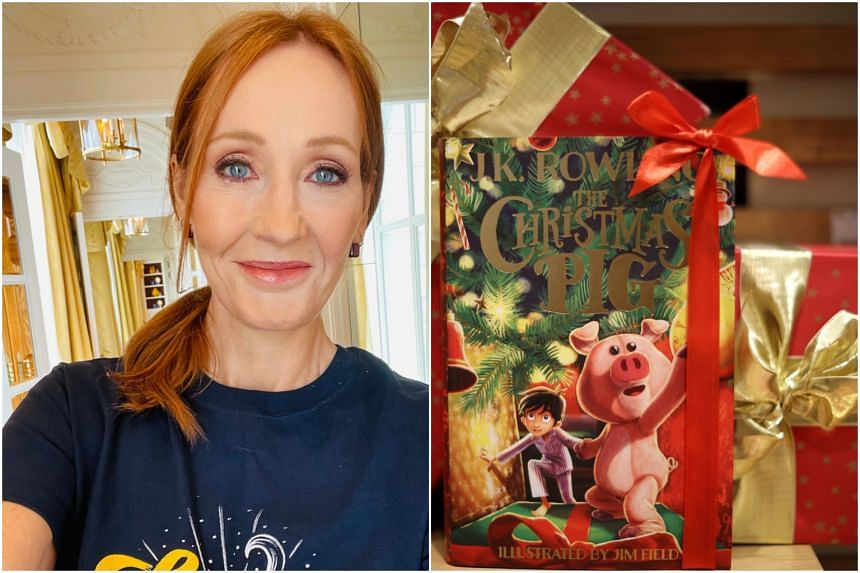 JK Rowling released her first children's Christmas book on Oct 12.