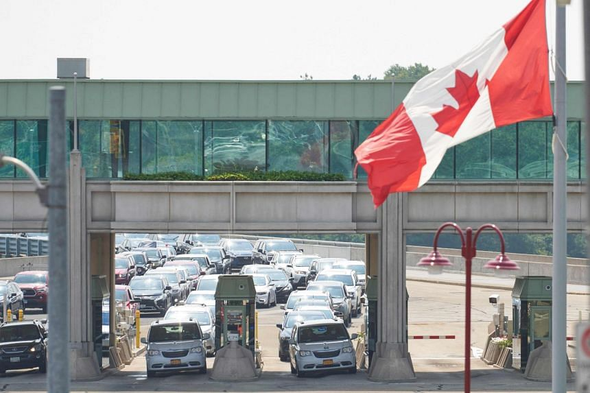 Canada on Aug 9 began allowing fully vaccinated US visitors for non-essential travel.