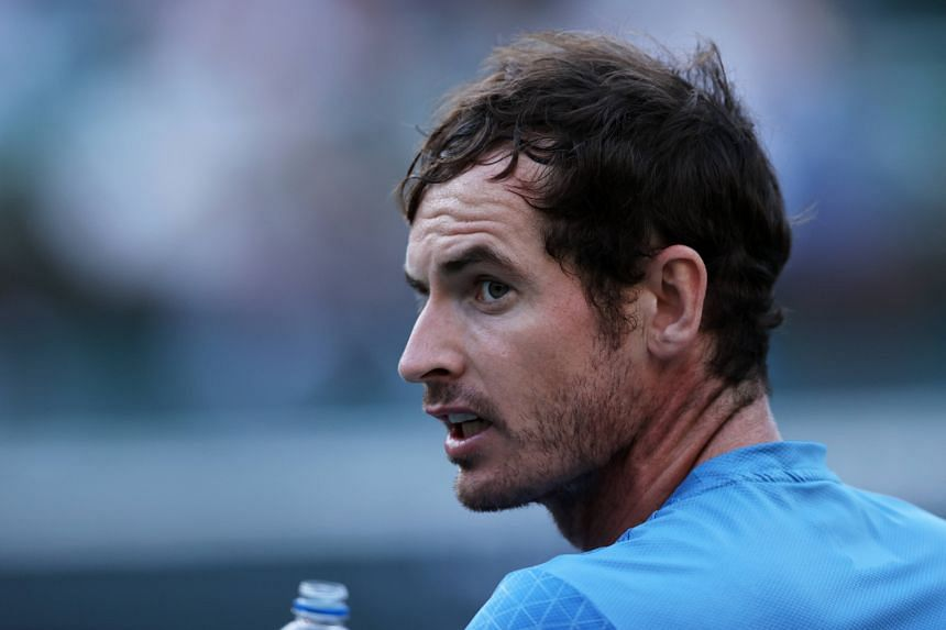 """""""It would be great if more players got vaccinated,"""" said Andy Murray."""