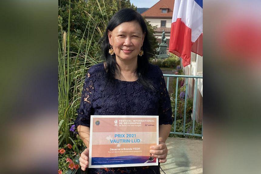 Professor Brenda Yeoh was awarded the international Vautrin Lud Prize 2021.