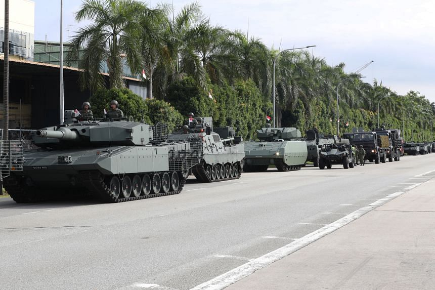 The Singapore Armed Forces aims to reduce carbon emissions growth by two-thirds by 2030.