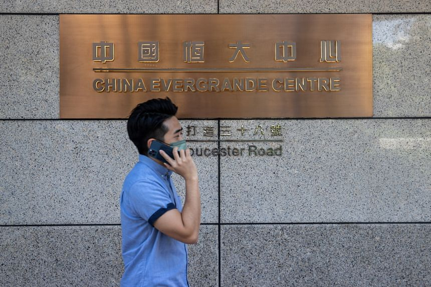 Evergrande did not pay nearly US$150 million (S$203 million) worth of coupons on three bonds due on Monday.