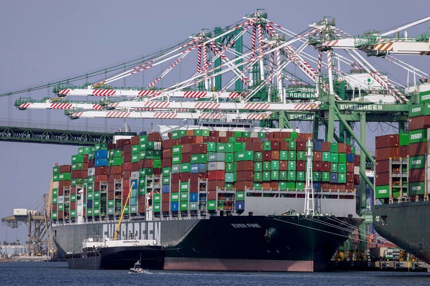 The California ports are a key gateway for goods made in Asia.