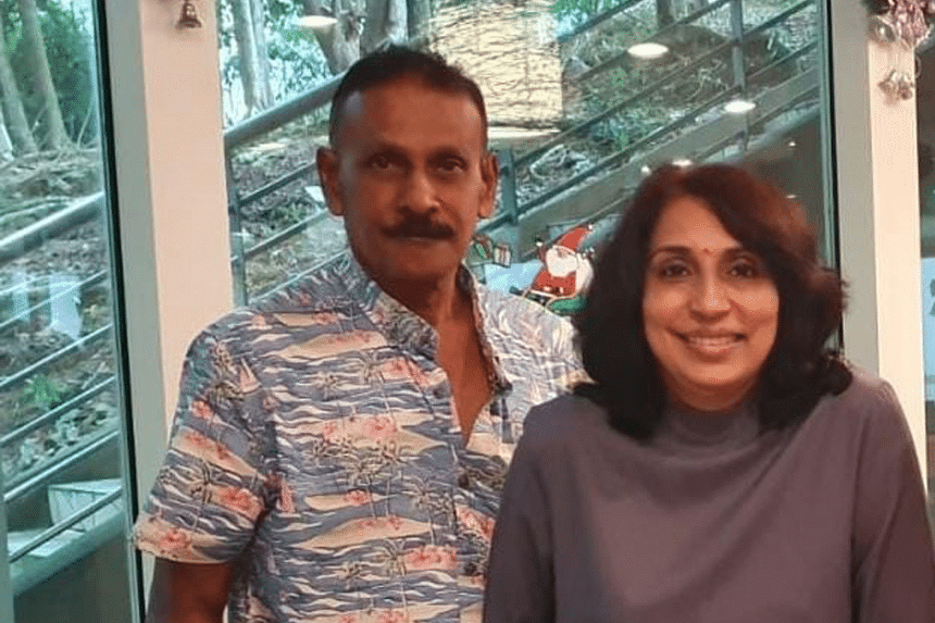 Madam Puspha Arumugam and her husband Barathan Kundan began fostering in 2019 after their son and daughter-in-law introduced them to it.