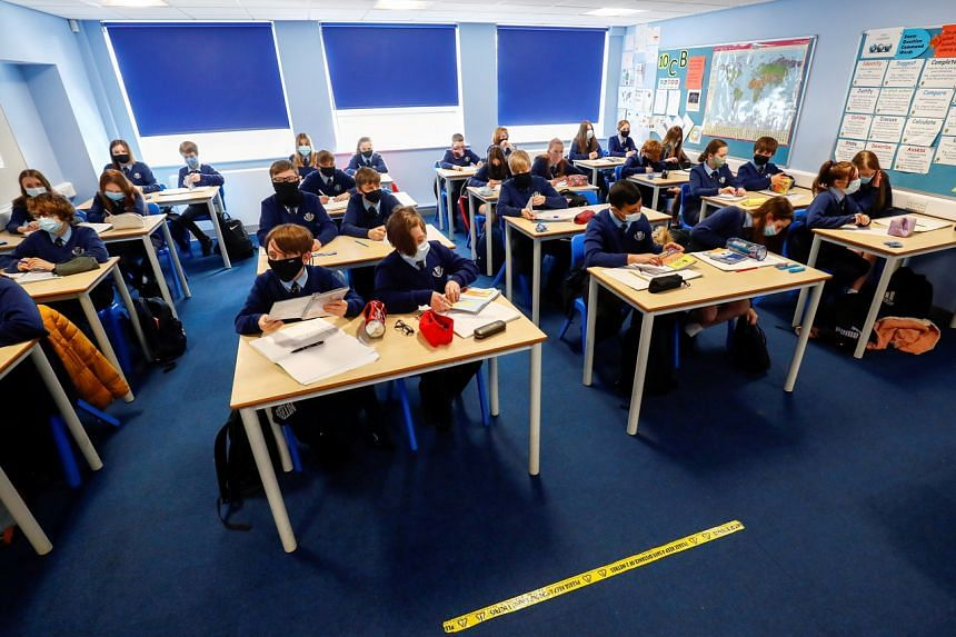 More children are getting infected with Covid-19 following the reopening of schools at the start of September.
