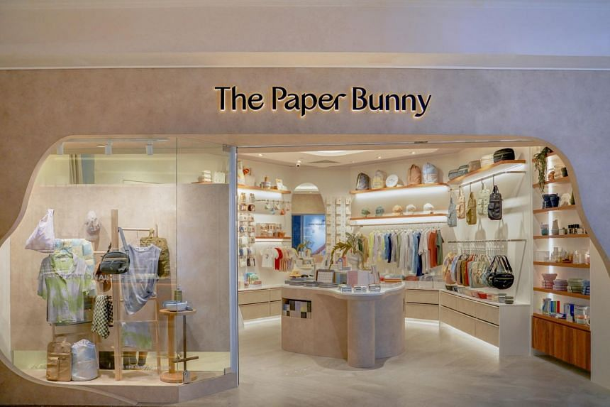 The Paper Bunny's first physical store is located at Takashimaya Shopping Centre.