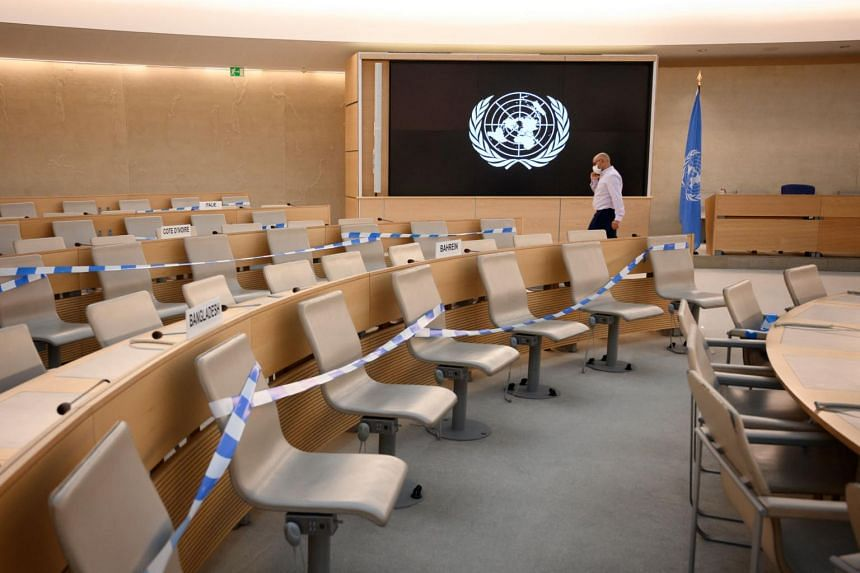 The council in Geneva is made up of 47 member states elected by the UN General Assembly in New York.