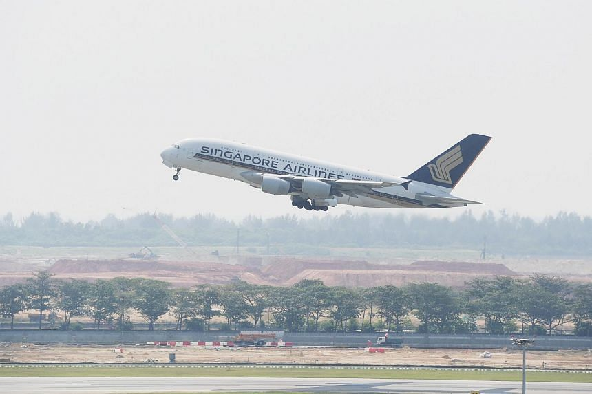 The jumbo plane will fly from Singapore to London as flight SQ322, and return as flight SQ317.