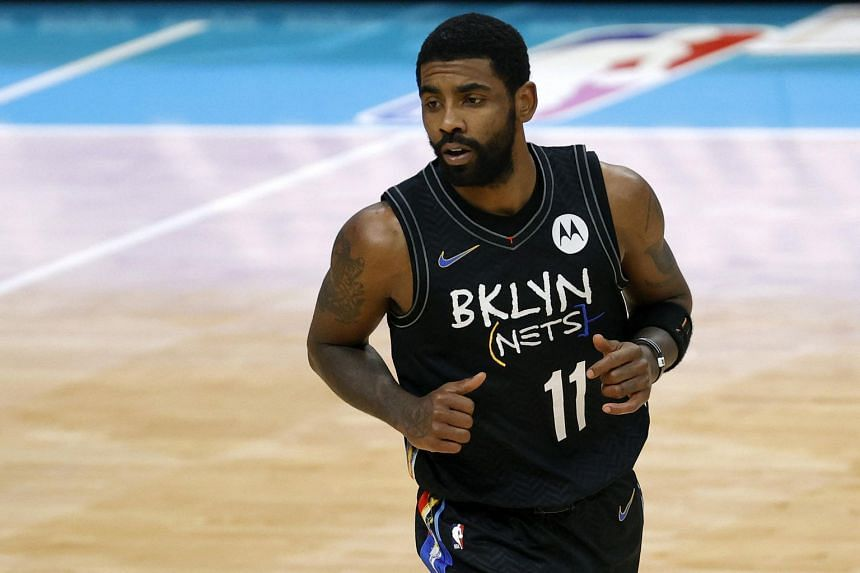 Kyrie Irving asked that his decision to remain unvaccinated be respected and said that he has no plans to retire.
