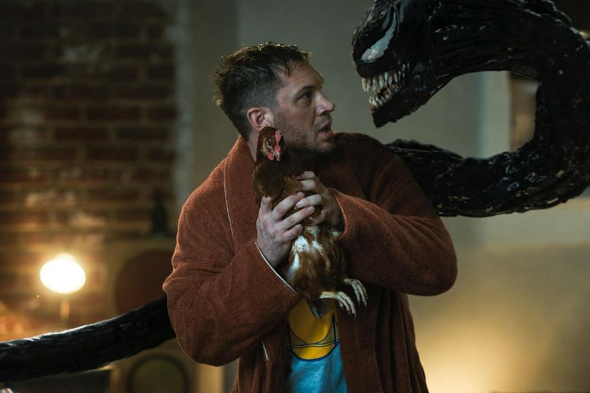 Venom: Let There Be Carnage starring Tom Hardy.