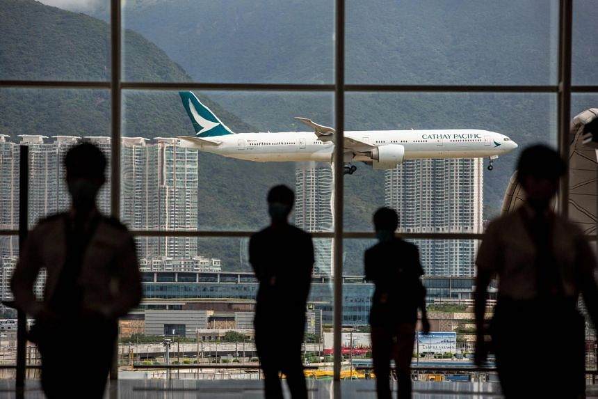 Companies are under rising pressure due to Covid-19 travel restrictions and have become restless in Hong Kong.