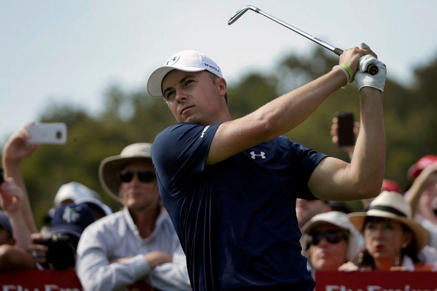 American golfer Jordan Spieth during the 2016 edition of the Australian Open.