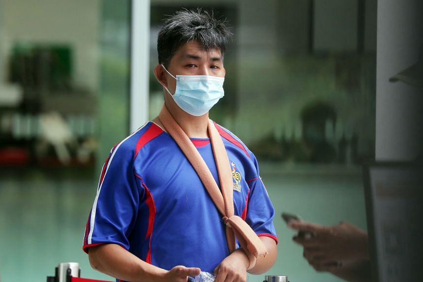 Kervin Ang Chin Wee had pleaded guilty to charges including one count of causing grievous hurt by dangerous driving.