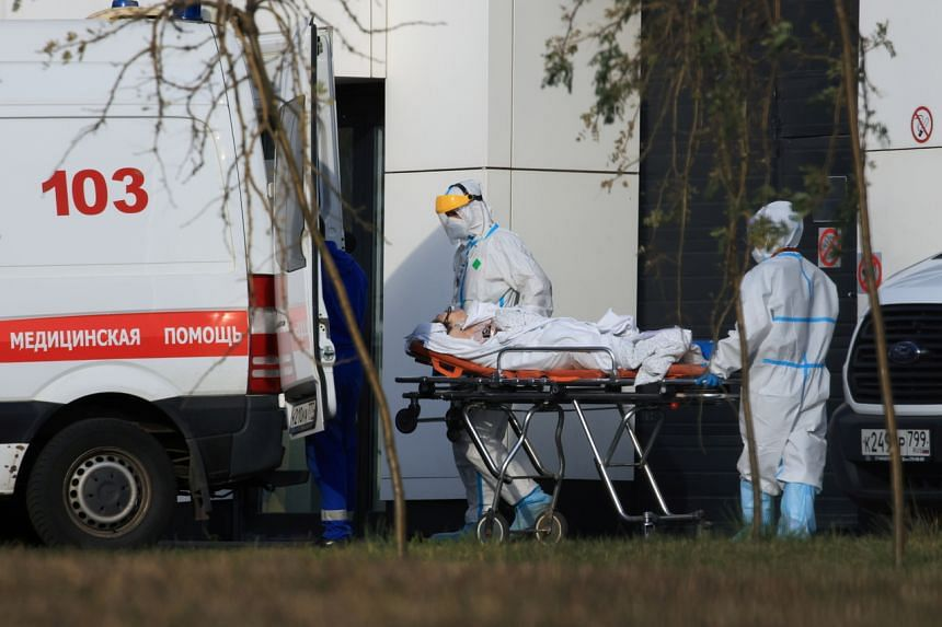 Russia registered 31,299 new infections and 986 deaths from Covid-19 over 24 hours.