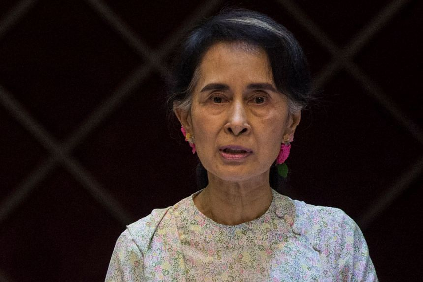 The military will not allow the envoy to meet Ms Aung San Suu Kyi because she is charged with crimes.
