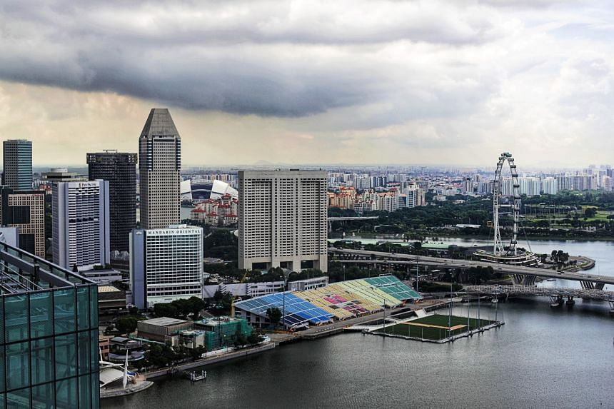Singapore's strong annual growth in the second quarter of 2021 was largely due to the corresponding 2020 quarter's low base.